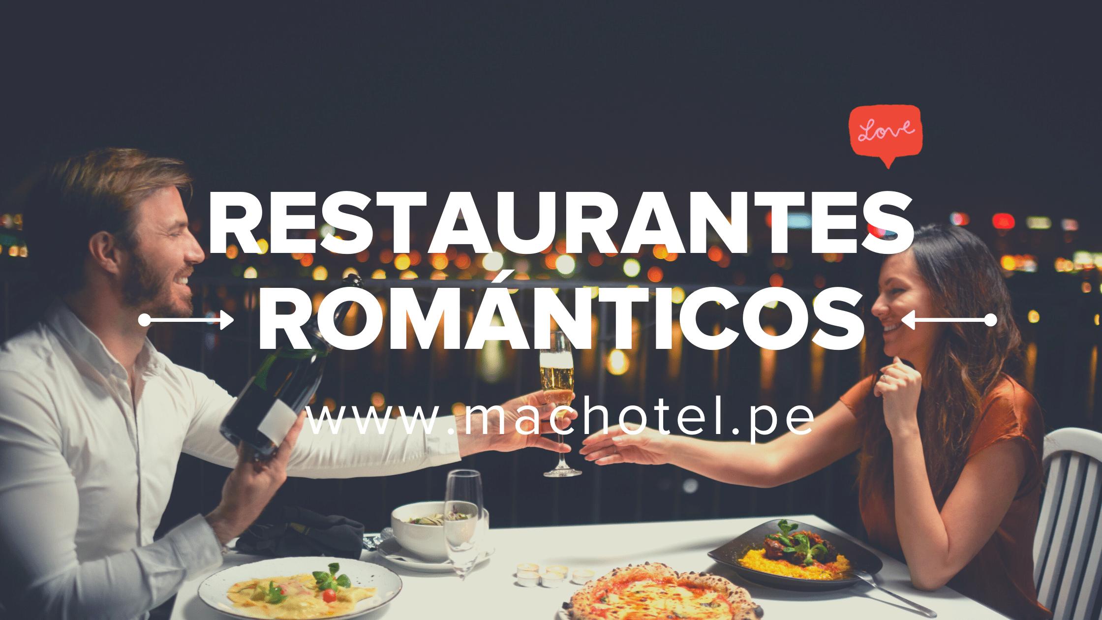 Los 10 restaurantes románticos para ir en pareja.