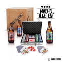 Macho All In – Set de Póker