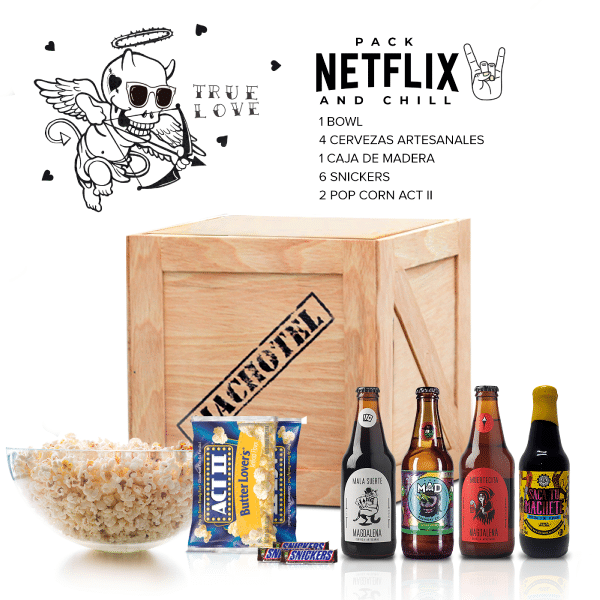 Netflix And Chill – Regalos para hombres