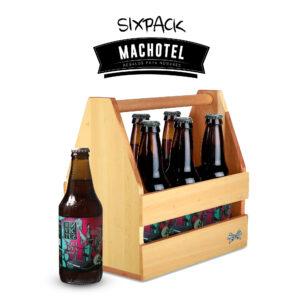 Six Pack de Madera