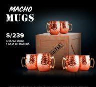 Macho Mugs de Cobre