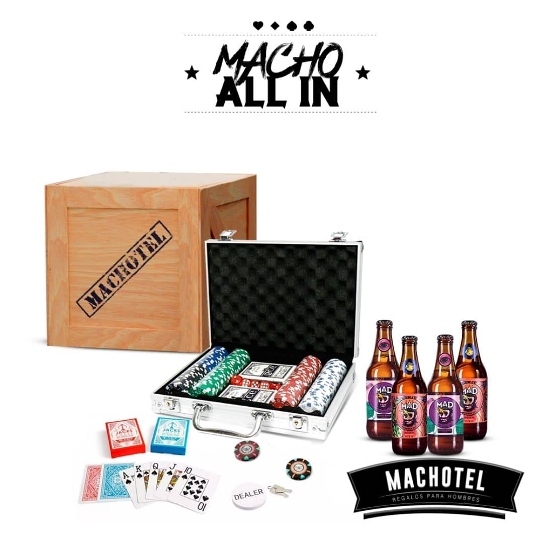 Macho All In Set de Póker